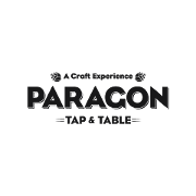 This is the restaurant logo for Paragon Tap and Table