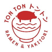 This is the restaurant logo for Ton Ton Ramen & Yakitori