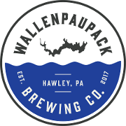 This is the restaurant logo for Wallenpaupack Brewing Company
