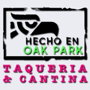 This is the restaurant logo for Hecho En Oak Park
