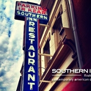 This is the restaurant logo for Southern Inn Restaurant