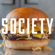 This is the restaurant logo for SOCIETY #1001 - Cherry Street