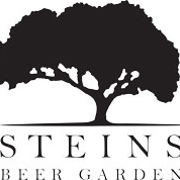 This is the restaurant logo for Steins Beer Garden