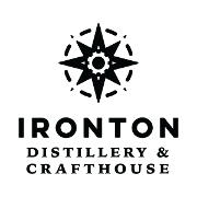 This is the restaurant logo for Ironton Distillery & Crafthouse