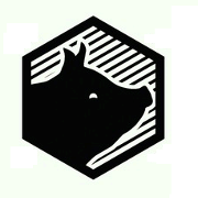 This is the restaurant logo for Top Hog BBQ Restaurant