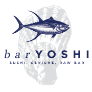 This is the restaurant logo for BAR YOSHI