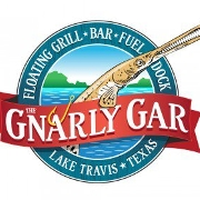 This is the restaurant logo for The Gnarly Gar