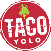 This is the restaurant logo for Taco YOLO