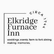 This is the restaurant logo for The Elkridge Furnace Inn