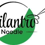 This is the restaurant logo for Cilantro Noodle