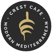 This is the restaurant logo for Crest Cafe