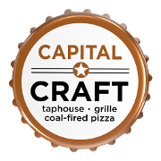 This is the restaurant logo for Capital Craft