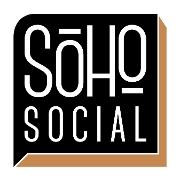 This is the restaurant logo for Soho Social
