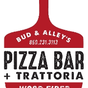 This is the restaurant logo for S.W.D.R. GRILL INC. DBA BUD & ALLEY'S - Pizza Bar