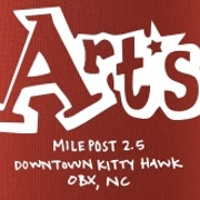 This is the restaurant logo for Art's Place