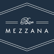 This is the restaurant logo for Bar Mezzana