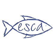This is the restaurant logo for Esca