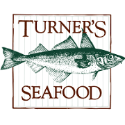 This is the restaurant logo for Turner's Seafood Grill & Market