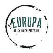 This is the restaurant logo for Europa pizzeria