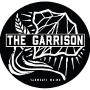 This is the restaurant logo for The Garrison