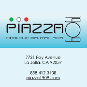 This is the restaurant logo for Piazza 1909