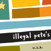 This is the restaurant logo for Illegal Pete's