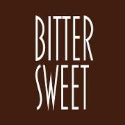 This is the restaurant logo for Bittersweet Pastry Shop & Cafe