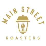 This is the restaurant logo for Main Street Roasters