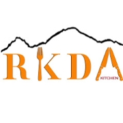 This is the restaurant logo for RKDA kitchen