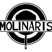 This is the restaurant logo for Molinari's