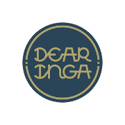 This is the restaurant logo for Dear Inga