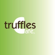 This is the restaurant logo for Truffles Cafe