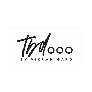 This is the restaurant logo for TBD... BY VIKRAM GARG
