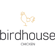 This is the restaurant logo for The Birdhouse