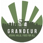 This is the restaurant logo for Grandeur