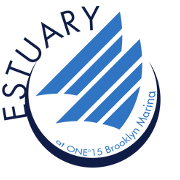 This is the restaurant logo for Estuary