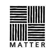 This is the restaurant logo for MATTER