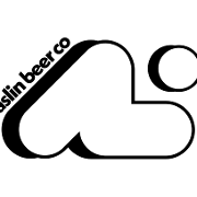 This is the restaurant logo for Aslin Beer Company
