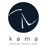 This is the restaurant logo for Kama