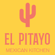 This is the restaurant logo for El Pitayo Mexican Kitchen