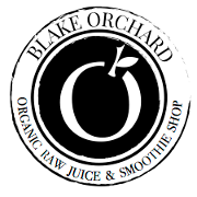 This is the restaurant logo for Blake Orchard