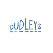 This is the restaurant logo for Dudleys
