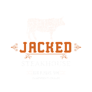 This is the restaurant logo for Jacked Steakhouse