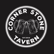 This is the restaurant logo for Corner Stone Tavern