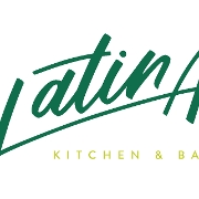 This is the restaurant logo for Latina Kitchen and Bar
