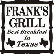 This is the restaurant logo for Franks Grill