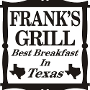 Restaurant logo for Franks Grill