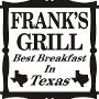 Restaurant logo for Franks Grill
