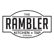 This is the restaurant logo for The Rambler Kitchen + Tap