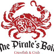 This is the restaurant logo for The Pirate's Boil